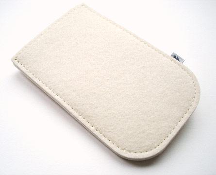 iPhone Elektropulli in Weiß