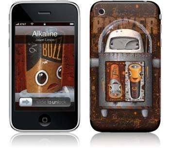 "iPhone Skin ""Alkaline"" von Jason Limon - Euer Rabattcode: ""ilovemiphone"""