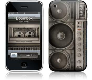 "iPhone Skin ""Boombox"" von Lyle Owerko - Euer Rabattcode: ""ilovemiphone"""