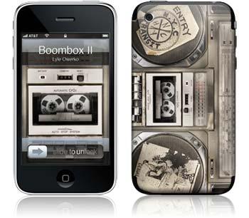 "iPhone Skin ""Boombox II"" von Lyle Owerko - Euer Rabattcode: ""ilovemiphone"""