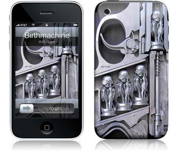 """iPhone Skin """"Birthmachine"""" von HR Giger - Euer Rabattcode: """"ilovemiphone"""""""
