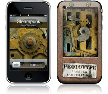 "iPhone Skin ""Steampunk"" von Colin Thompson - Euer Rabattcode ""ilovemiphone"""