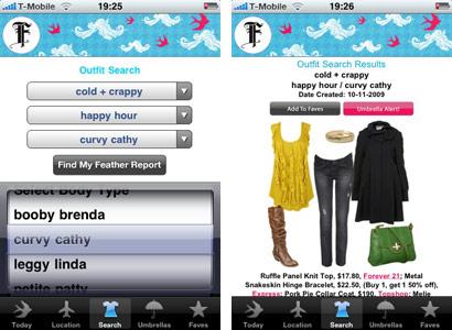 """Ob """"Booby Brenda"""" oder """"Leggy Linda"""" - für jeden Typ hält der Feather Report gleich mehrere Outfits parat."""