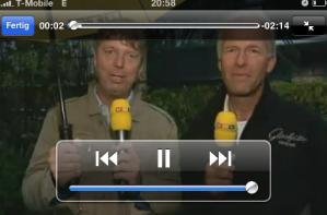 Live-Übertragung von Formel 1 Qualifying und Rennen auf Euer iPhone