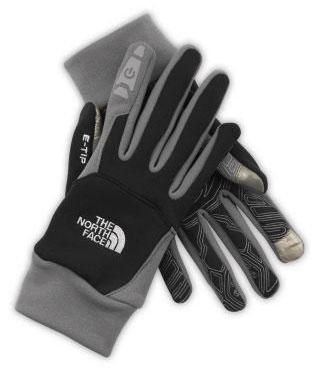 Sportliche Handschuhe für's iPhone gibt's bei The North Face für 40 USD