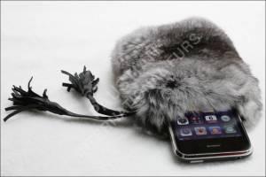 Für die Gewissenlosen: iPhone Case aus echtem Chinchillafell
