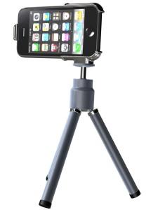 Der Tripod für's iPhone kostet 29,90 USD
