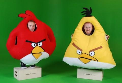 Die Angry Birds Kostüm-Helden